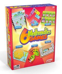 Another great find on #zulily! 6 Mathematics Games #zulilyfinds