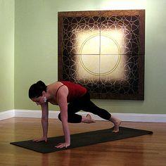Knee Up Plank