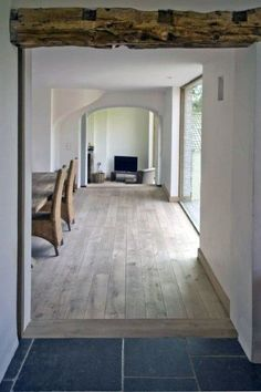 Extensive range of parquet flooring in Edinburgh, Glasgow, London. Parquet flooring delivery within the mainland UK and Worldwide. Hardwood Floor Colors, Hardwood Floors, Living Room Flooring, Kitchen Flooring, Farmhouse Flooring, Transition Flooring, Tile To Wood Transition, Oak Color, Wooden Flooring