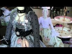 Tilda Doll Start to Finish Part 2 - Fabric Prep and Cutting - YouTube