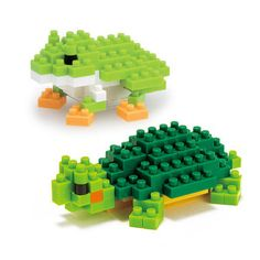 nanoblock Reptile And Amphibian, $16, now featured on Fab.