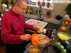 Avokádós ráksaláta Watermelon, Fruit, Food, Youtube, Yogurt, Essen, Meals, Yemek, Youtubers