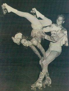 Doug Breniser and Gloria Nord #roller #skating #skate