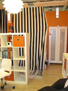 configure your small space using room divider ikea: charming room
