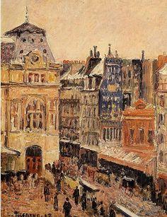 Camille Pissarro, View of Paris
