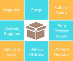 How to prepare for the big moving day. Title Insurance, Insurance Agency, Happy Moving Day, Budgeting, Stress, Kids, Young Children, Boys, Budget Organization