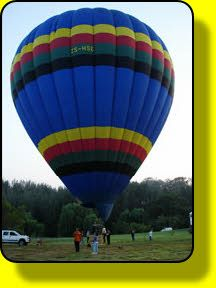 Outrageous Adventures - hot air ballooning! Definitely on my bucket list!