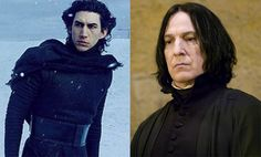 Harry Potter Fans: want Adam Driver to play Severus Snape in Prequel Film… Fandom Crossover, Adam Driver, Severus Snape, Reylo, Starwars, Professor, Harry Potter, Fans, Handsome