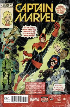 #WomensHistoryMonth#WomensHistoryMonth Carol Danvers ( http://ift.tt/2mXxH9x ) Carol Danvers is a Marvel Comics character created by writer Roy Thomas and designed by artist Gene Colan Major Carol Danvers first appeared as a member of the U.S. Air Force in Marvel Super-Heroes #13 (March 1968) and debuted as the first incarnation of Ms. Marvel in Ms. Marvel #1 (January 1977). The character has also been known as Binary Warbird and Captain Marvel at various points in her history. Due to her…