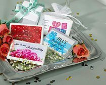 Personalized Bridal Shower Mint Container Favors