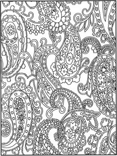 Creative Haven Crazy Paisley Coloring Book Welcome to Dover Publications