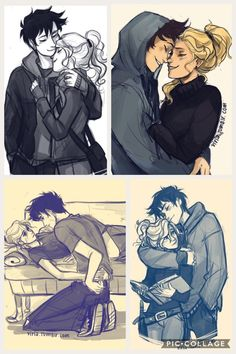 I think my non existent heart just gave a beat romantic drawing, percy and annabeth Percy Jackson Fan Art, Percy Jackson Ships, Percy Jackson Memes, Percy Jackson Books, Percy Jackson Fandom, Cute Couple Drawings, Cute Couple Art, Anime Love Couple, Love Drawings