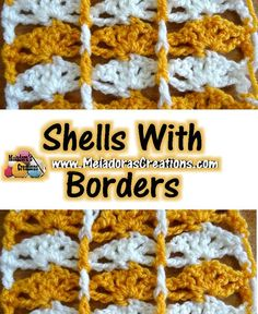 Free crochet pattern Shells with Borders with tutorial by Meladora's Creations