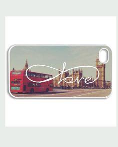 Apple iPhone 4 4G 4S 5 Case Cover Cute Love Paris by CaseRepublic, $15.00