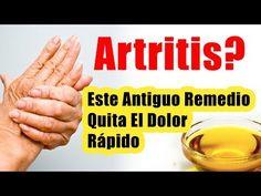 Antiguo tratamiento para la artritis quita el dolor rapido REMEDIOS CASEROS PARA LA ARTRITIS - YouTube