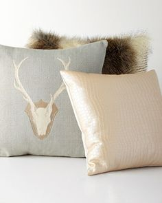 Forester Pillows (Deer Pillow) | Horchow