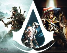 all assassin's creed crests | ... posters > Assassin's Creed posters > Assassin's Creed 3 poster Crest