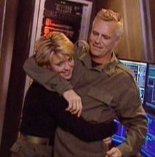 Richard Dean Anderson and Amanda Tapping- love these two!