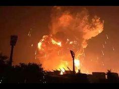 OTRA EXPLOSION EN CHINA 24 HORAS DESPUES Tianjin - Liaoning