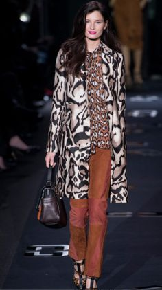 Can't make it to the tents? No problem!  Diane Von Furstenberg Fall 2013 Fashion Week FABULOUSNESS! #mbfw