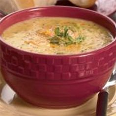 Pleasant Valley Cheese Soup