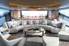 News and Trends from Best Interior Designers Arround the World Yacht Design, Boat Design, Dock Bumpers, Best Interior, Interior Design, Luxury Yachts, Architecture Design, Home Goods, Villa