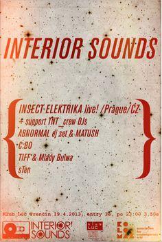 Interior Sounds Poster by marcelvelky on deviantART Prague Cz, Contemporary Art, Deviantart, Interior, Poster, Design, Indoor, Interiors