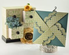 folded window card - Google Search