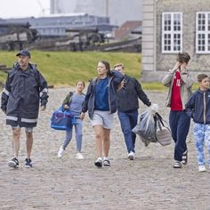 Denmark Royal Family, Danish Royal Family, Queen Margrethe Ii, Danish Royals, Crown Princess Mary, Rare Pictures, Royal Families, Windsor, Countries