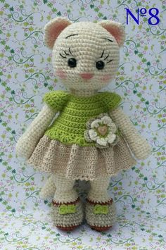 Mesmerizing Crochet an Amigurumi Rabbit Ideas. Lovely Crochet an Amigurumi Rabbit Ideas. Crochet Animal Patterns, Crochet Doll Pattern, Stuffed Animal Patterns, Crochet Patterns Amigurumi, Amigurumi Doll, Crochet Animals, Crochet Dolls, Doll Patterns, Amigurumi Tutorial
