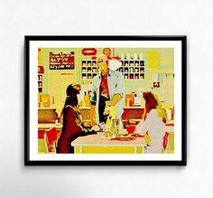 Luke's diner print