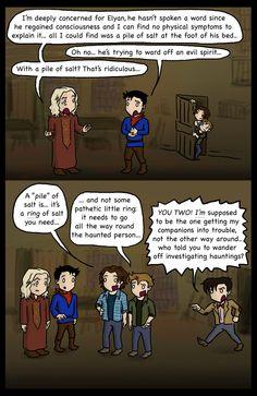Merlin.SPN.Doctor Who: Salt Rings!!  Cool crossover! XD     by blackbirdrose.deviantart.com