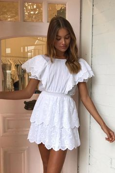 In A Search For A Perfect White Dress For Summer - Autumn - . - In A Search For A Perfect White Dress For Summer – Autumn – Source by womensfashionishier - Dress For Summer, Summer Dresses With Sleeves, Spring Summer, Summer Street, Style Summer, Summer Time, Casual Summer Outfits, Spring Outfits, Outfit Summer