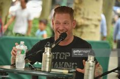 Corey Taylor book event at Bryant Park NY 8 Jul 2015