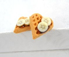 Free Shipping Miniature Waffles with Chocolate and by MistyAurora, $18.00