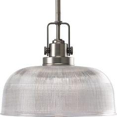 Progress Lighting P5026-81 Archie 1 Light Pendant in Antique Nickel