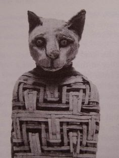 Histoire: Égypte Ancienne: Momie animale d'Égypte - Frawsy