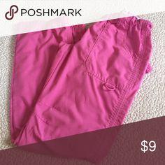 Pink scrubs Pink scrub bottoms size xs Green town Pants