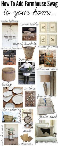 How To Add Farmhouse Style To your Home {wine glass writer}