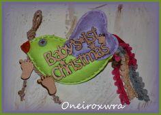 Τσόχινο Πουλάκι με ξύλινο μήνυμα. Ιδανικό Χριστουγεννιάτικο δωράκι Cake, Desserts, Tailgate Desserts, Deserts, Kuchen, Postres, Dessert, Torte, Cookies