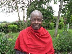 Marco Thane and Charlotte's Maasai gaurd