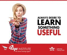 Always Desire to Learn something Useful.  Joining Riya Institute. Call +91 9562700121 or visit our website  http://riyainstitute.com/application-form/ and get your admissions today.