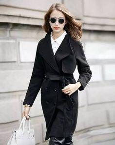 流行时尚:冬天穿这些颜色能让你更漂亮! - 由明星时尚街拍潮搭配发表 - 文学城