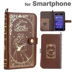 Disney iPhone6 (4.7) Leather Old Book Case Beauty and the Beast / Bell
