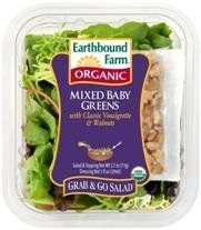 I'm learning all about Earthbound Farm Organic Mixed Baby Greens Grab