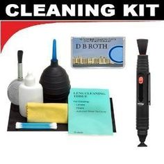 Lenspen Lens Cleaning System + Hurricane Blower + Deluxe 5-Piece Cleaning Kit For The Canon Digital Cameras