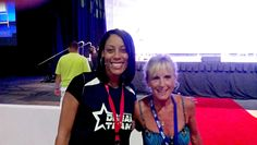 Marion Mehrer with Tracey Walker in San Diego at the Empower Network event! Geez I think I need to get some platform shoes.. I'm just too short.. LOL