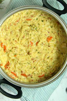 soup recipes slow cooker ~ soup recipes _ soup recipes healthy _ soup recipes easy _ soup recipes slow cooker _ soup recipes vegetarian _ soup recipes with ground beef _ soup recipes healthy low calories _ soup recipes instant pot Crack Chicken Noodle Soup, Soup With Ground Beef, Ground Chicken, Quick And Easy Soup, Think Food, Slow Cooker Soup, Healthy Soup Recipes, Noodle Recipes, Lentil Recipes