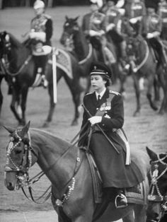 Queen Elizabeth is the only member of the British royal family, held military service.