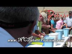 2010 NC Potato Festival's National Potato Peeling Contest - Part 1 of 2